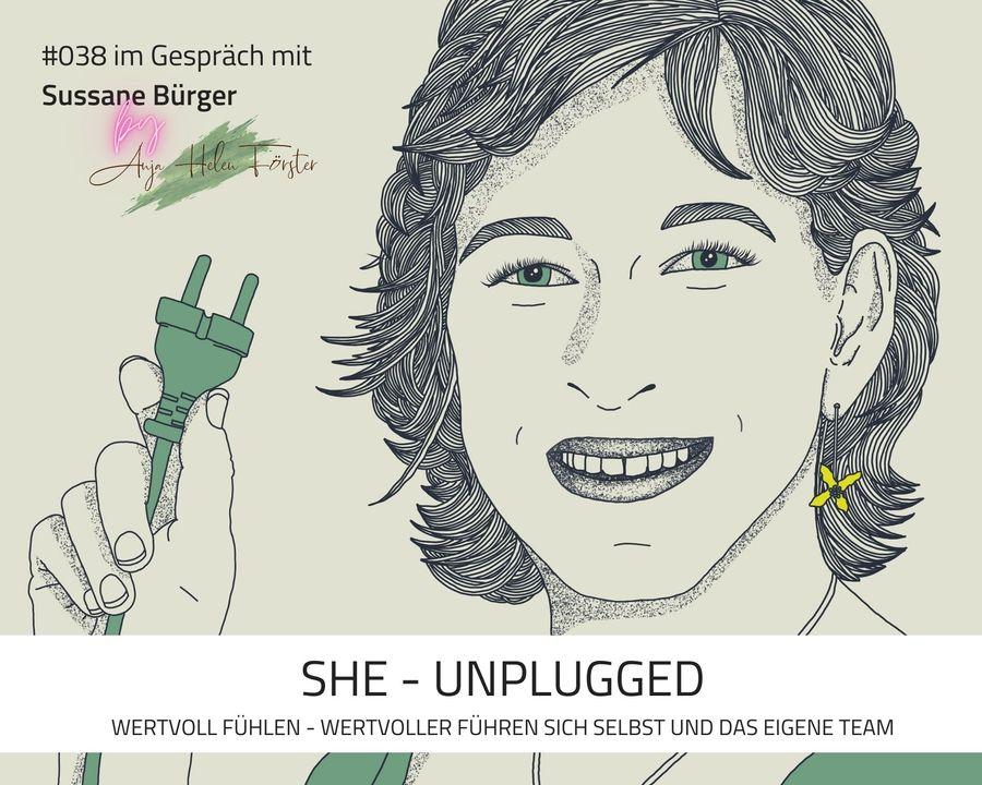 Podcast She Unplugged Folge 38